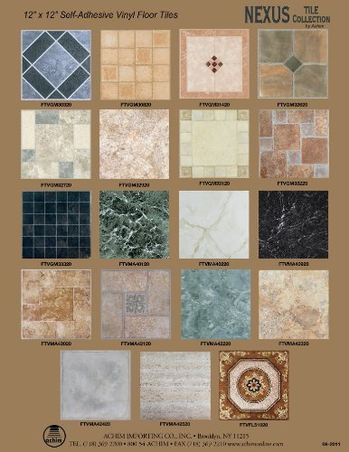 Achim Home Furnishings Ftvwd20420 Nexus 12 Inch Vinyl Tile