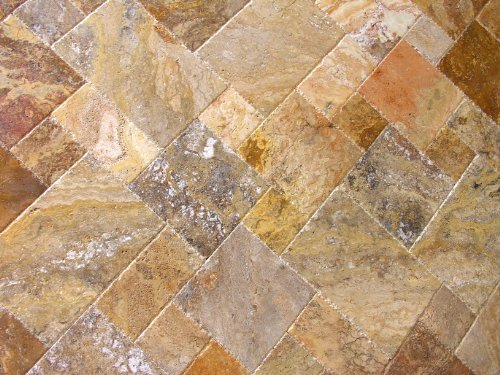 Scabos Travertine Versailles Ashlar Patterned Tiles Uf