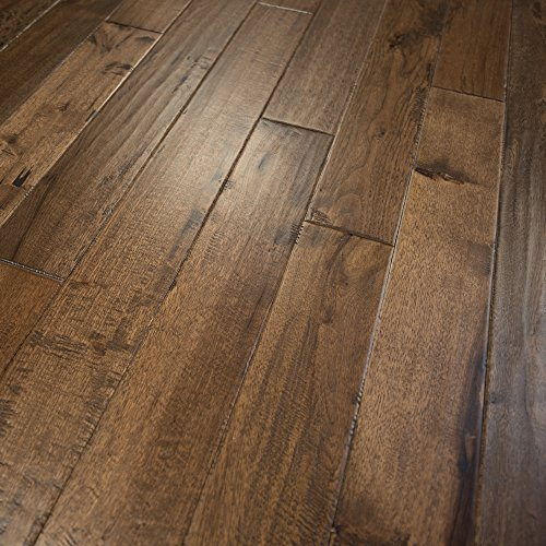 Prefinished Taun Solid Hardwood Flooring 5 8 X 4 3 4: Hickory Character (Old West) Prefinished Solid Wood